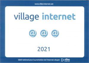 Panneau village internet Rosenau