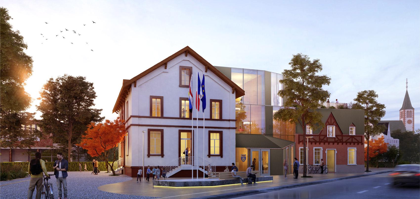 Mairie Rosenau architecte