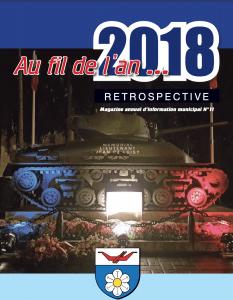 Couverture du magazine Au Fil de l'An édition 2018